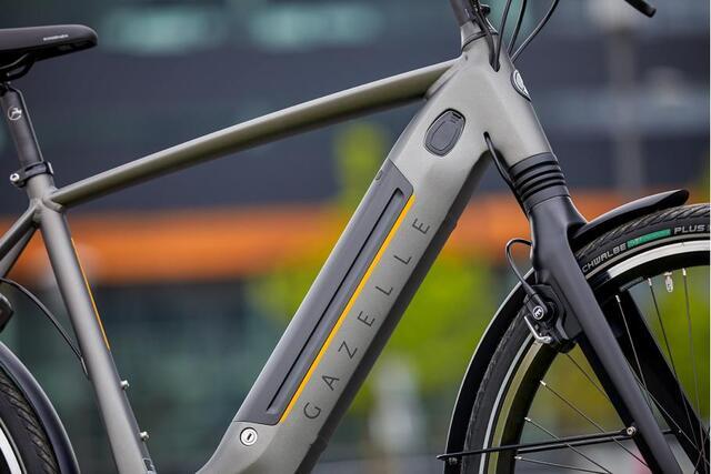 Gazelle Connect de elektrische fiets met GPS tracker.
